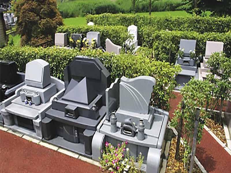 メモリアルガーデン大宮青山苑 緑あふれる墓地