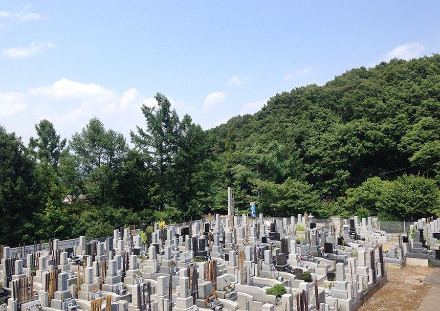 城山霊園8