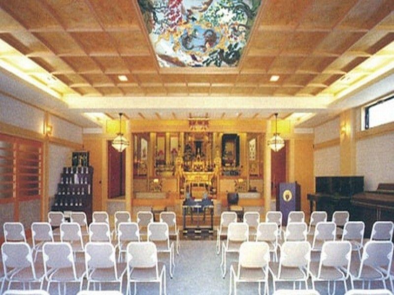 別院満足院 浄光殿 法要施設も完備