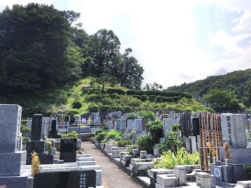 城山霊園9