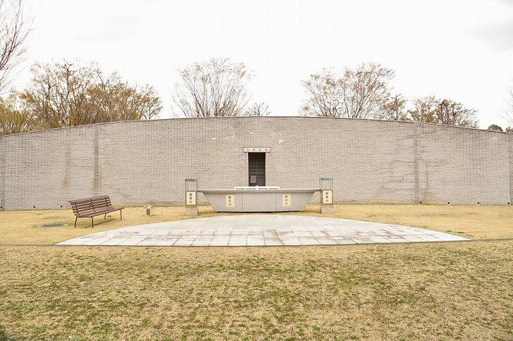 さいたま市営霊園 思い出の里 合葬式墓地全景