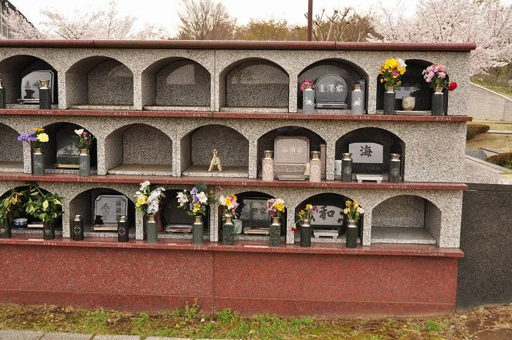 さいたま市営霊園 思い出の里 屋外墓地風景