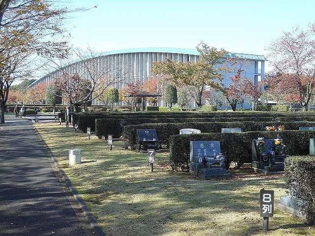 さいたま市営霊園 思い出の里 日当たりの良い墓域