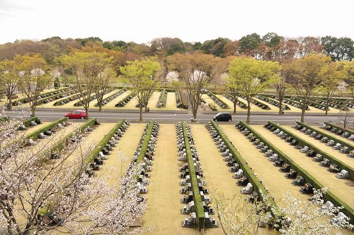 さいたま市営霊園 思い出の里 大型墓地ならではのゆとりある墓域