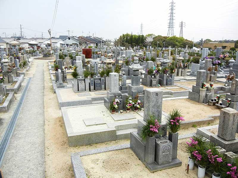 大阪狭山市公園墓地 和型墓石