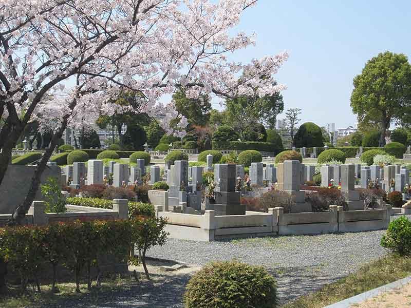 大阪市設 服部霊園の一般墓