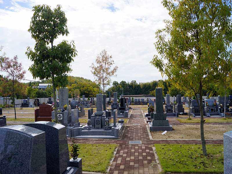 桃の郷霊園 一般墓所