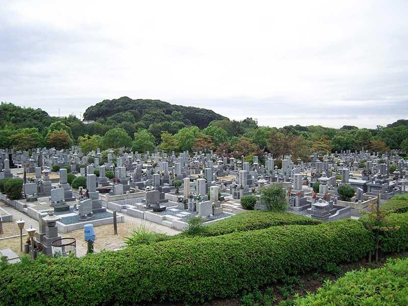 堺市営 堺公園墓地(鉢ヶ峯公園墓地) 園内風景