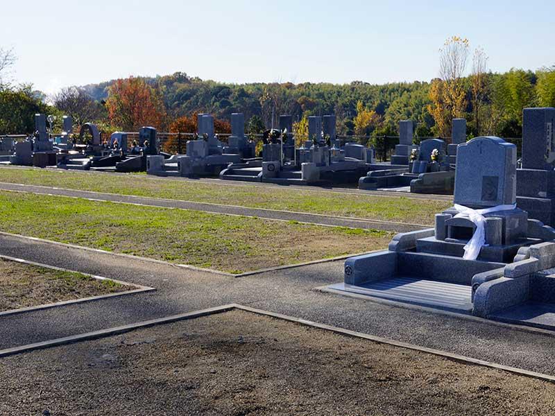 岸和田市墓苑(流木墓苑) 市営の公園墓地