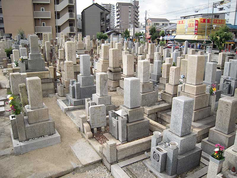 住吉千躰霊園 一般墓所