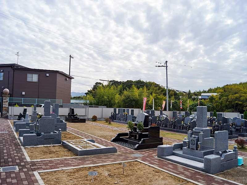 桃の郷霊園 和型・洋型墓石
