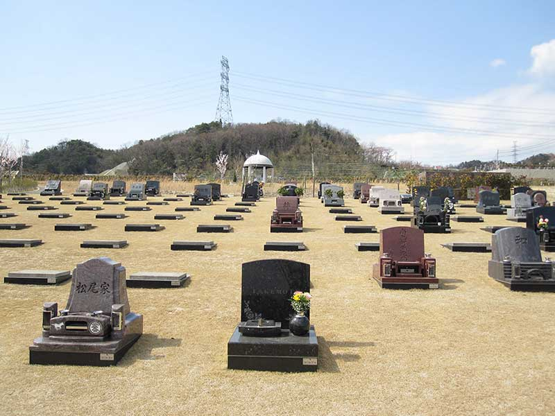 飯盛霊園 芝生墓所