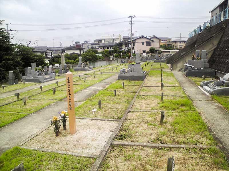 大阪狭山市公園墓地 墓地内風景