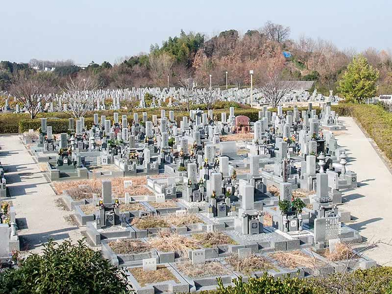 富田林市営 富田林霊園 園内風景