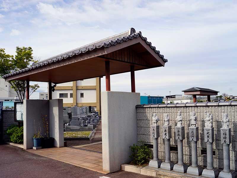 北大阪霊園 園内入り口