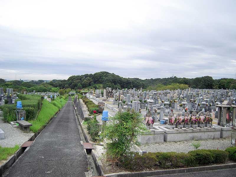 堺市営 堺公園墓地(鉢ヶ峯公園墓地) 豊かな自然の公園墓地