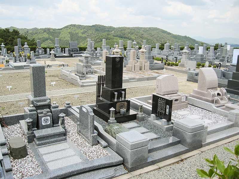 大阪北摂霊園の一般墓所と空き区画