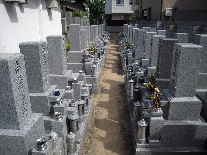 恩楽寺霊苑 一般墓所