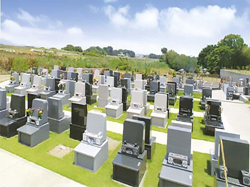 平塚霊園 那由佗の郷 緑に囲まれた墓域