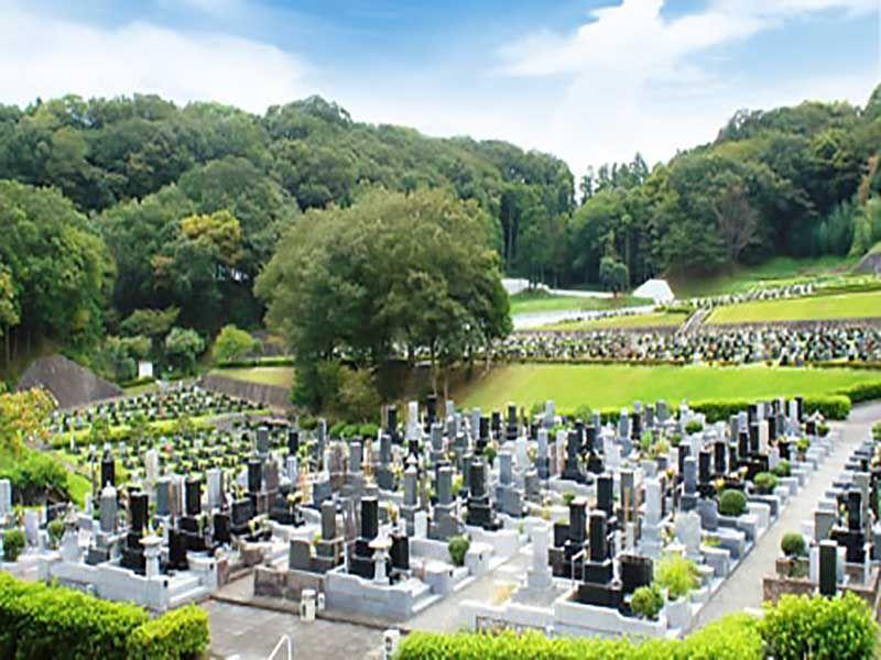 平塚市営 土屋霊園 緑あふれる墓地