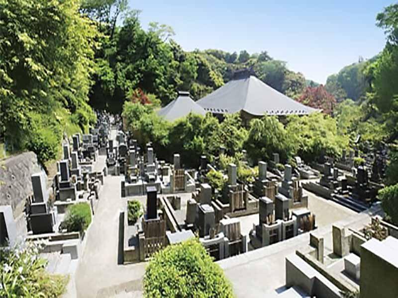 龍峰院 日当たりの良い墓域