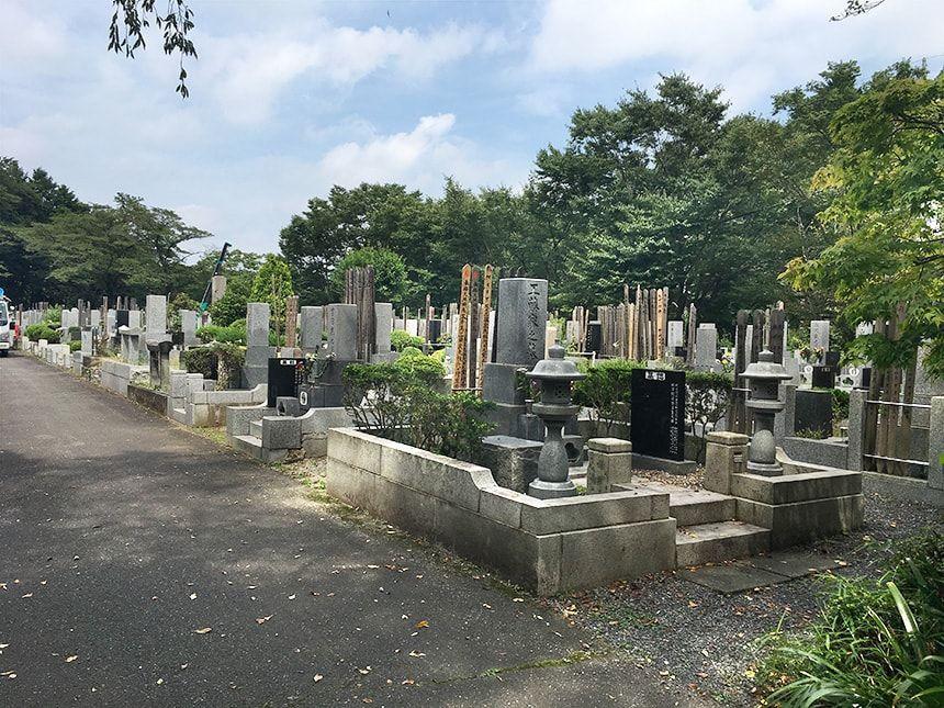 東京秋田霊園9