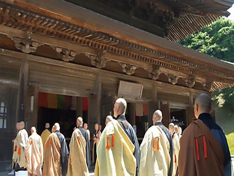 大本山 建長寺 方丈の列