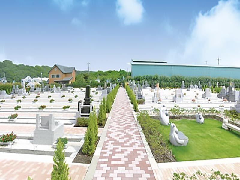 相模ふれあいの杜 田名聖地霊園 明るい欧風ガーデン墓地