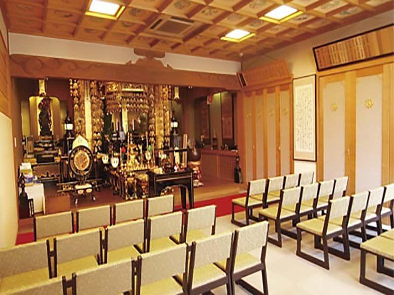 湘南海光霊園 法要施設も完備