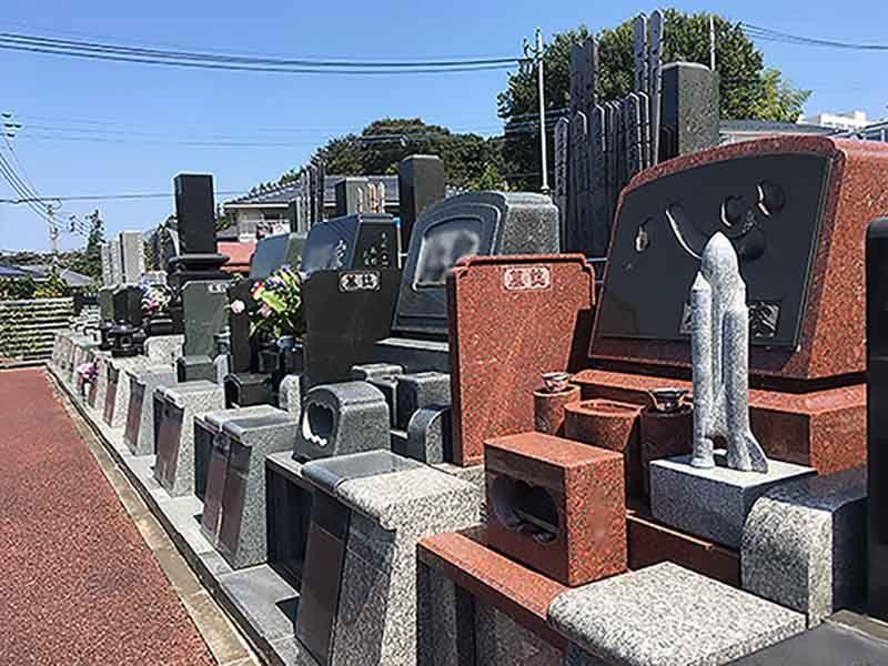 綾瀬中央霊園セントソフィア 和型・洋型墓石