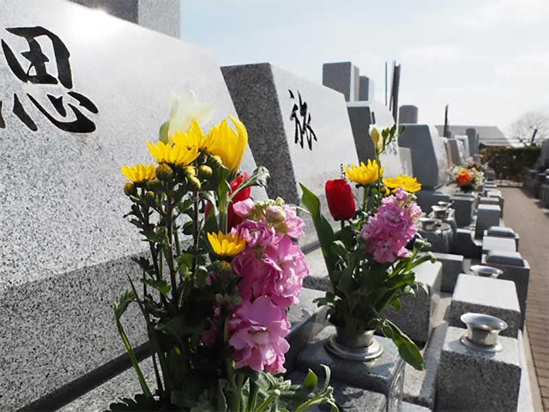 川越山城霊園 一般墓地区画