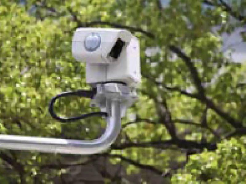 鶴ヶ島さくら並木霊園セントソフィア 園内は監視カメラ完備