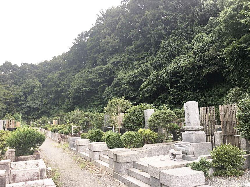 高尾霊園9