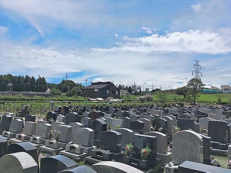 環境霊園 横浜みどりの森 周囲に遮るものがなく日当たりが良い墓域