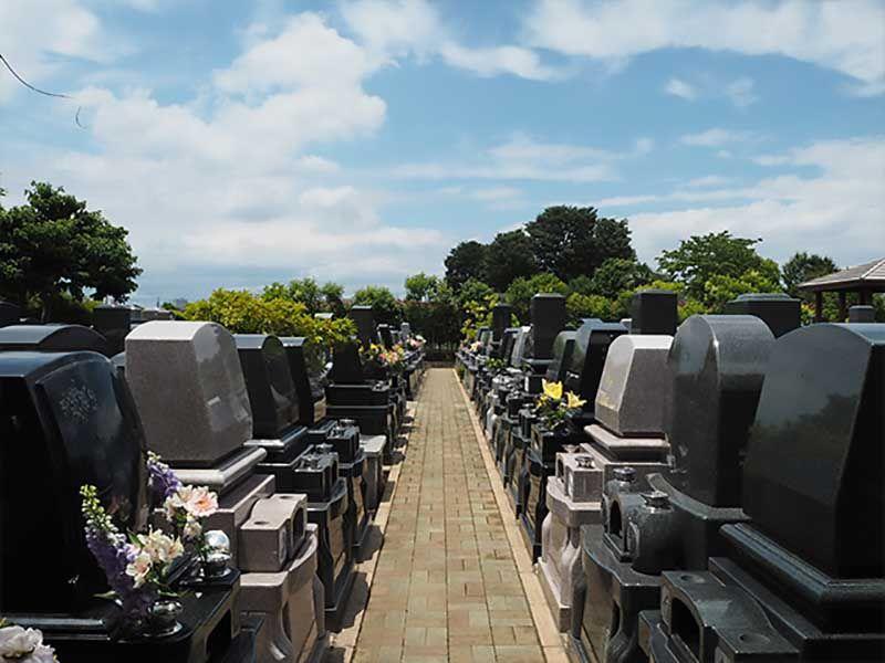 小平聖地公園セントソフィア 日当たりの良い墓域