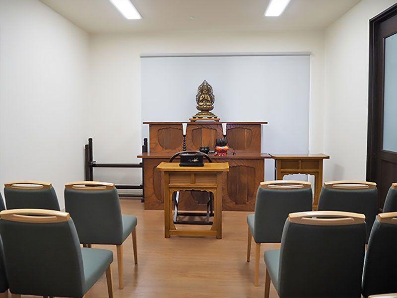 環境霊園 横浜みどりの森 管理棟内の一室