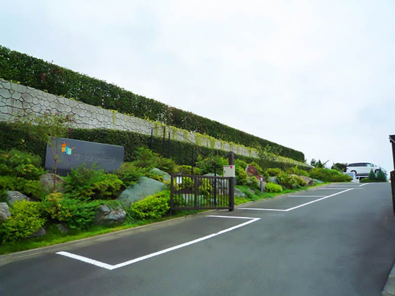 メモリアルサンステージ 霊園入口