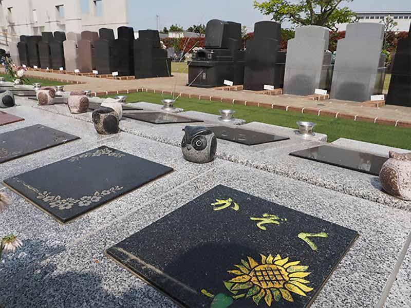 リバティ所沢セントソフィア 墓地風景