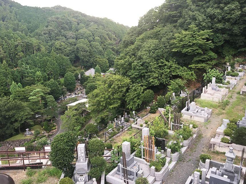 高尾霊園12