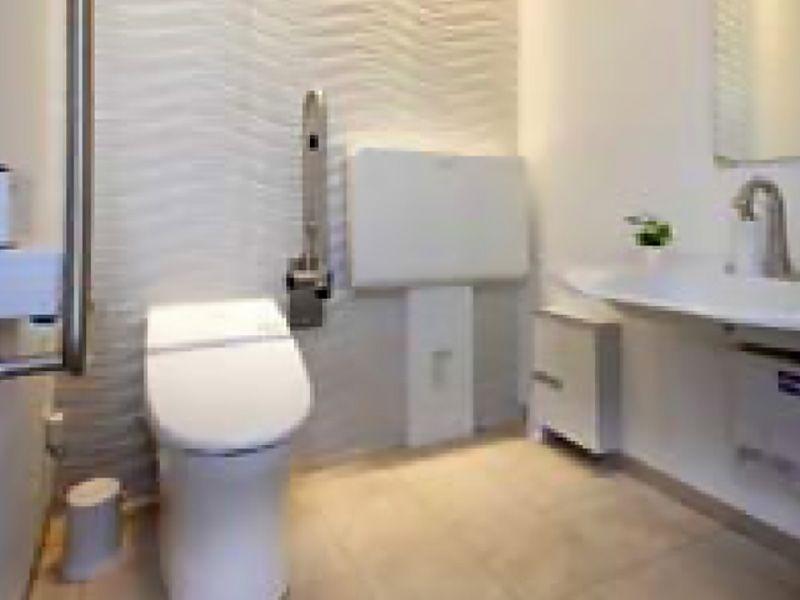 鶴ヶ島さくら並木霊園セントソフィア 清潔なトイレ