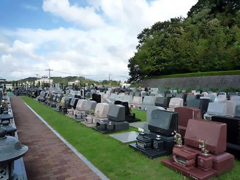 緑山メモリアルパーク 緑豊かな墓域