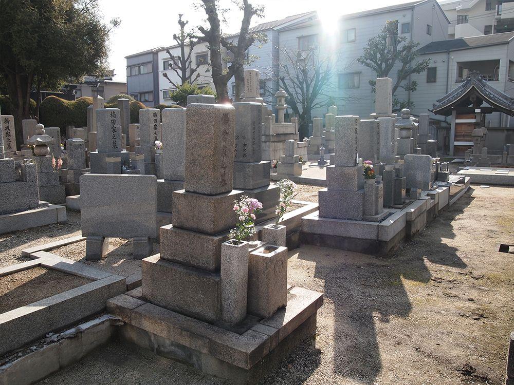 一運寺墓地
