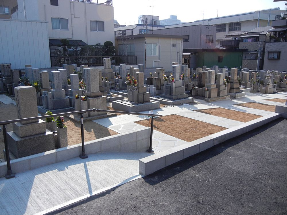 最勝寺境内墓地