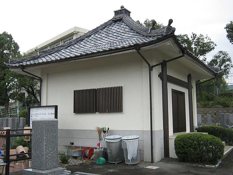 本厳寺霊苑の給湯設備