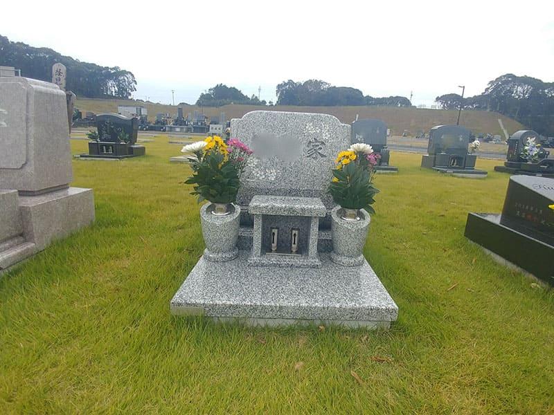 袋井市夢の丘墓園の洋型墓石