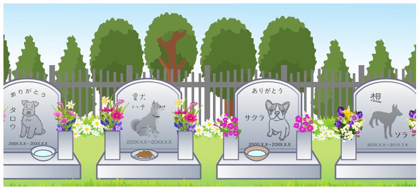 ペット専用のお墓