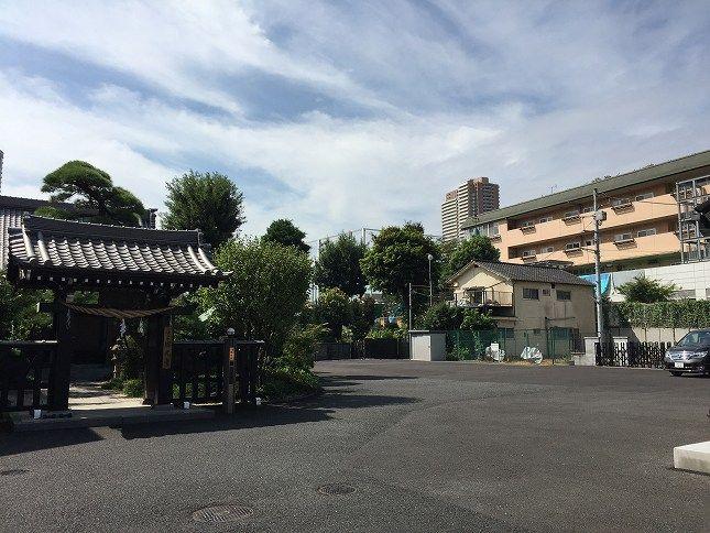 恵光メモリアル新宿浄苑 駐車スペース