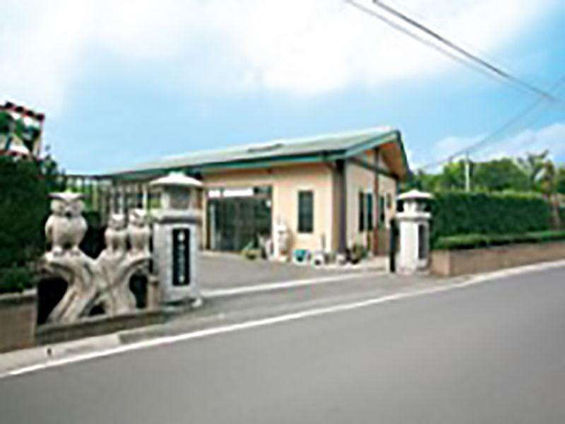 狭山やすらぎ霊園 バリアフリーになっている正門