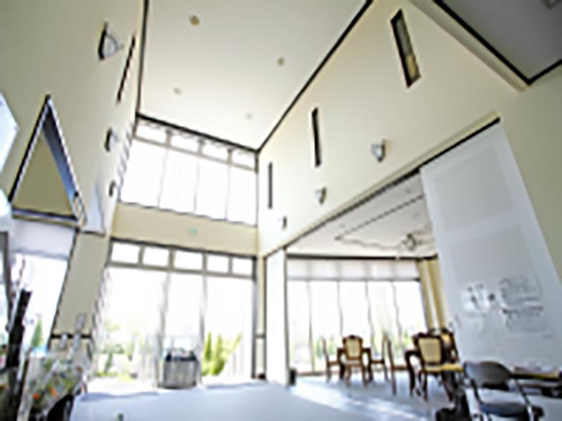 富士見メモリアルガーデン 永代供養墓「彩雲」 管理棟内部