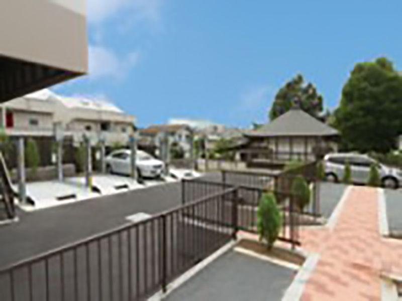 メモリアルガーデン山田 駐車場